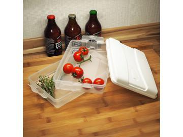 Frischhalte-Stapelbox Aufschnittbox Frischhaltedose Isolierdose Box mit Deckel