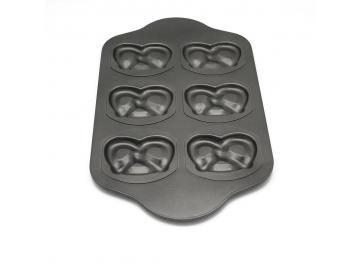Backform Backblech Brezel Brezen Lebkuchen Antihaft Beschichtung 45 x 27 cm