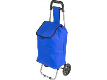 Einkaufstrolley Einkaufsroller Einkaufswagen Trolley Roller Shopping Tasche blau