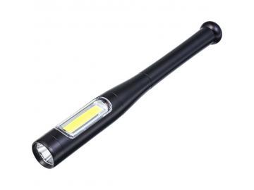LED Taschenlampe Handlampe mit 5 Funktionen incl. Stroboskop Angriffs Abwehr