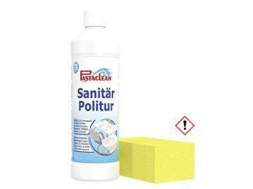 Pastaclean Sanitärpolitur inkl. Schwamm reinigt versiegelt Abperleffekt 250 ml