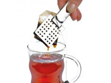 Teebeutelzange Edelstahl Teebeutel Quetscher Teezange Zuckerzange Toastzange