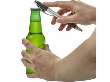 Multifunktions Kugelschreiber Kuli Stift mit Flaschenöffner und Schraubendreher