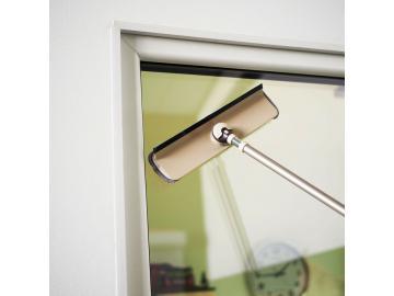 Teleskop Fensterwischer Fensterreiniger Glasabzieher Badwischer incl. Bezug